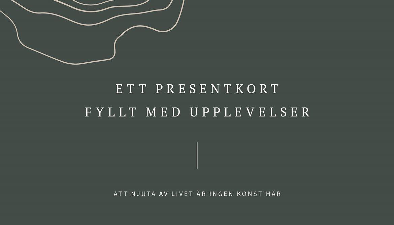 Presentkort Spa Varberg